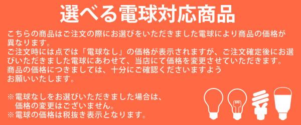 選べる電球対応商品