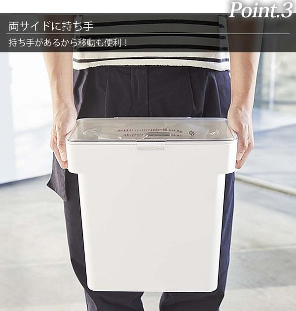 袋ごと米びつ