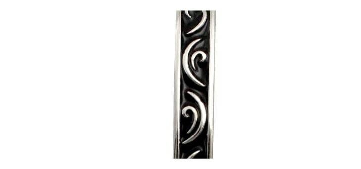 ブランド LARA Christie(ララクリスティー)のセイントグラス バングル(ブラックレーベル)のアラベスク模様。