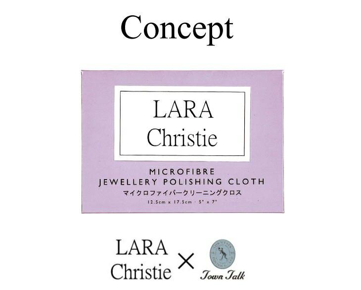 ブランド LARA Christie(ララクリスティー)のマイクロファイバークロス TOWN TALK(タウントーク)のコンセプト。