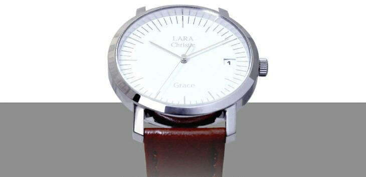 ブランドLARA Christie(ララクリスティー)のグレース 腕時計 レディース ウォッチ(ホワイトレーベル) 。