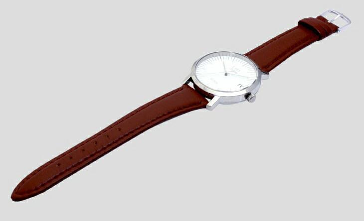 ブランド LARA Christie(ララクリスティー)のグレース 腕時計 レディース ウォッチ(ホワイトレーベル)の本革ベルト。