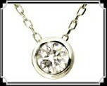 ブランド LARA Christie(ララクリスティー)のEXZA エグザ COLLECTION K18 ネックレス 18金 ホワイトゴールド。