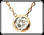 ブランド LARA Christie(ララクリスティー)のEXZA エグザ COLLECTION K18 ネックレス 18金 ピンクゴールド
