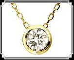 ブランド LARA Christie(ララクリスティー)のEXZA エグザ COLLECTION K18 ネックレス 18金 イエローゴールド