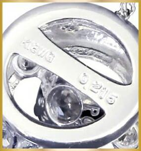 ブランド LARA Christie(ララクリスティー)のEXZA エグザ COLLECTION K18 ネックレスの安心素材。