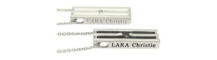 ブランド LARA Christie(ララクリスティー)のオリンピア ペアネックレスのブランドロゴの刻印。