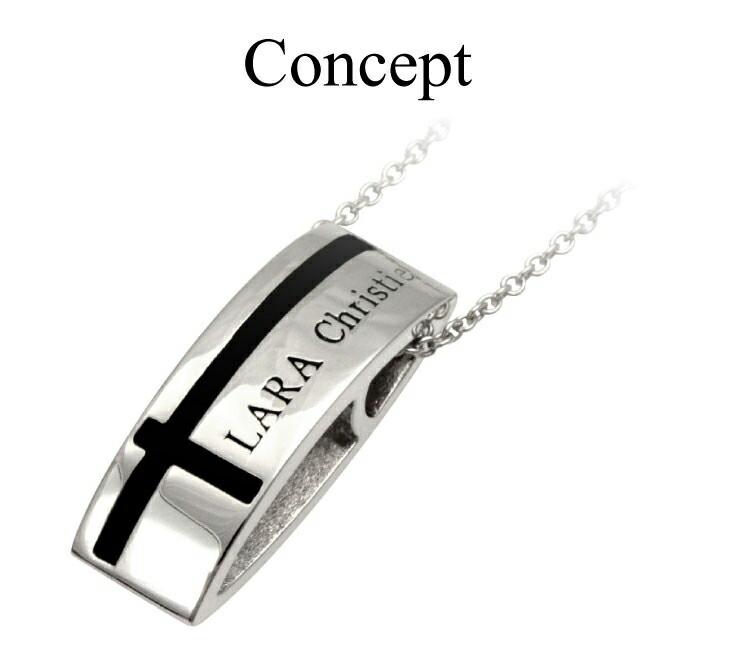 ブランド LARA Christie(ララクリスティー)のマリン クロス ネックレス(ブラックレーベル)のコンセプト。