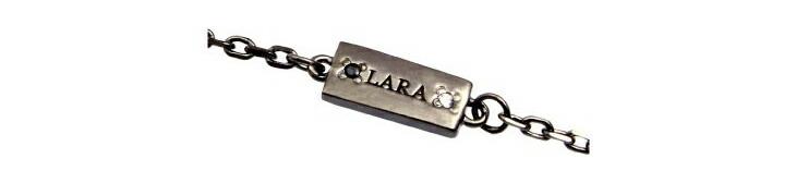 ブランド LARA Christie(ララクリスティー)のコルセア チェーン(ブラックレーベル)のブランドロゴの刻印。