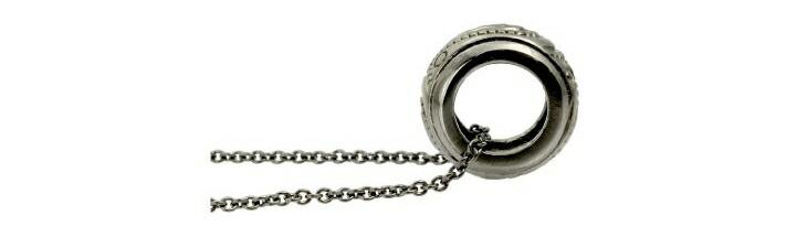 ブランド LARA Christie(ララクリスティー)のラパス ネックレス(ブラックレーベル)のサイド画像。