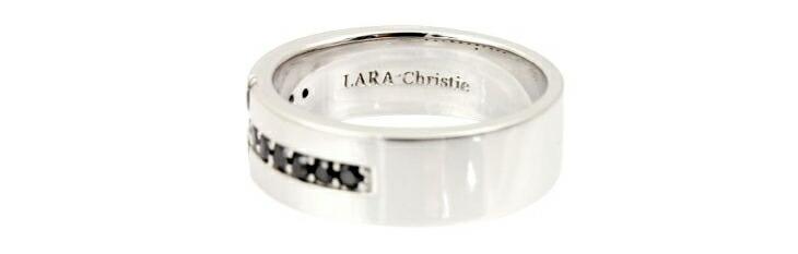 ブランド LARA Christie(ララクリスティー)のロイヤル クロス リング(ブラックレーベル)の刻印。