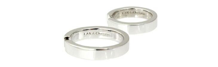 ブランド LARA Christie(ララクリスティー)のエターナル メモリー ペアリングの刻印。