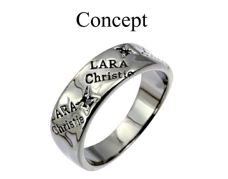 ブランド LARA Christie(ララクリスティー)のバベル リング(ブラックレーベル)のコンセプト。
