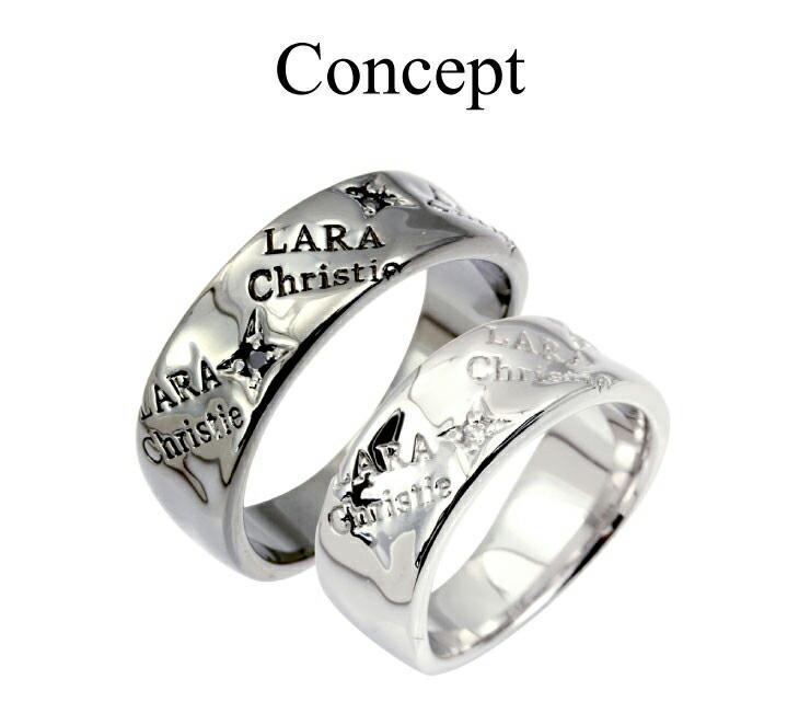 ブランド LARA Christie(ララクリスティー)のバベル ペアリングのコンセプト。