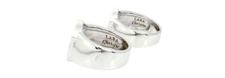 ブランド LARA Christie(ララクリスティー)のサザン クロス ペアリングのデザイン。