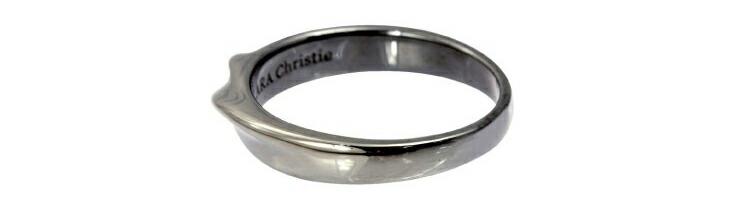 ブランド LARA Christie(ララクリスティー)のイルヴェント リング(ブラックレーベル)のデザイン。