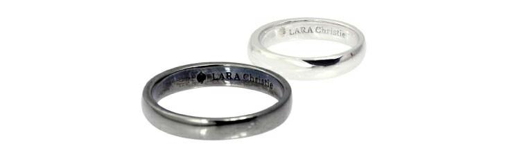 ブランド LARA Christie(ララクリスティー)のフルート ペアリングの刻印。