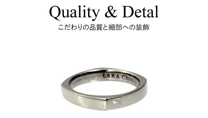 ブランド LARA Christie(ララクリスティー)のアモーレ リング(ブラックレーベル)のデザイン。