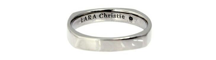 ブランド LARA Christie(ララクリスティー)のアモーレ リング(ブラックレーベル)の刻印。