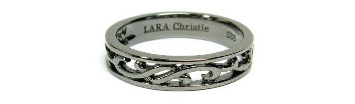 ブランド LARA Christie(ララクリスティー)のランソー ペアリングの刻印。