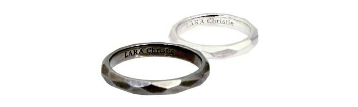 ブランド LARA Christie(ララクリスティー)のネイキッド ペアリングの刻印。