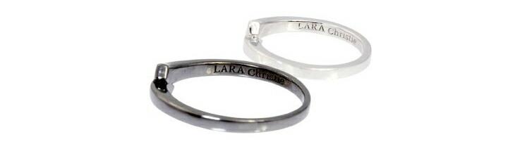 ブランド LARA Christie(ララクリスティー)のエスペランサ ペアリングの刻印。