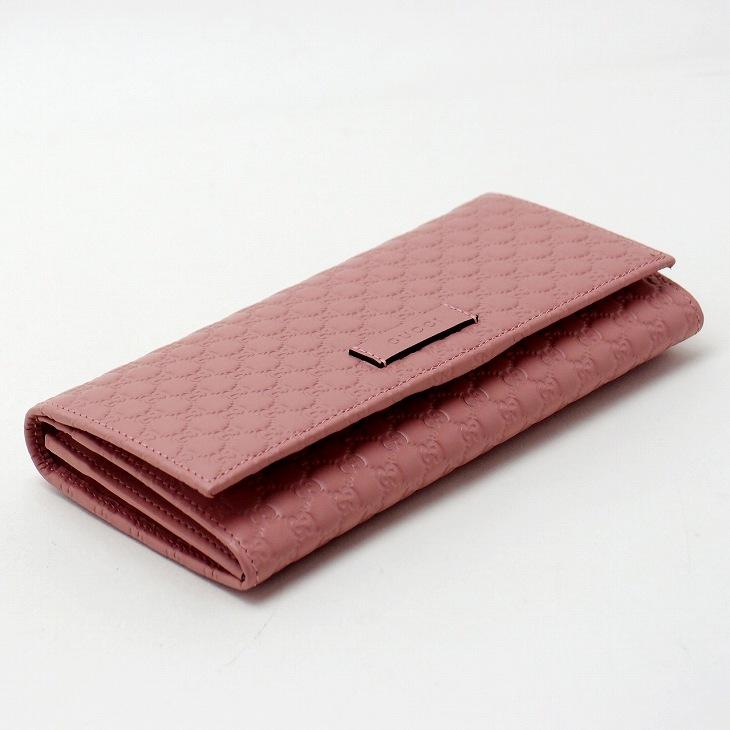 a88ec93e610e グッチ(GUCCI)。ありきたりなお財布は不要。 希少モデル。マイクログッチシマGG長財布。