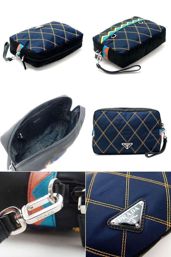 290e9e171ff5 芸能人やモデルさんにも大ブレイク中のプラダ。 このセカンドバッグを見つけた賢明なあなたにこそ、 ぜひ、お使い頂きたい、プラダのセカンドバッグです。