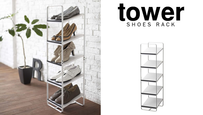 Completely new zeppe | Rakuten Global Market: Shoe rack Tower tower / shoe  YM46