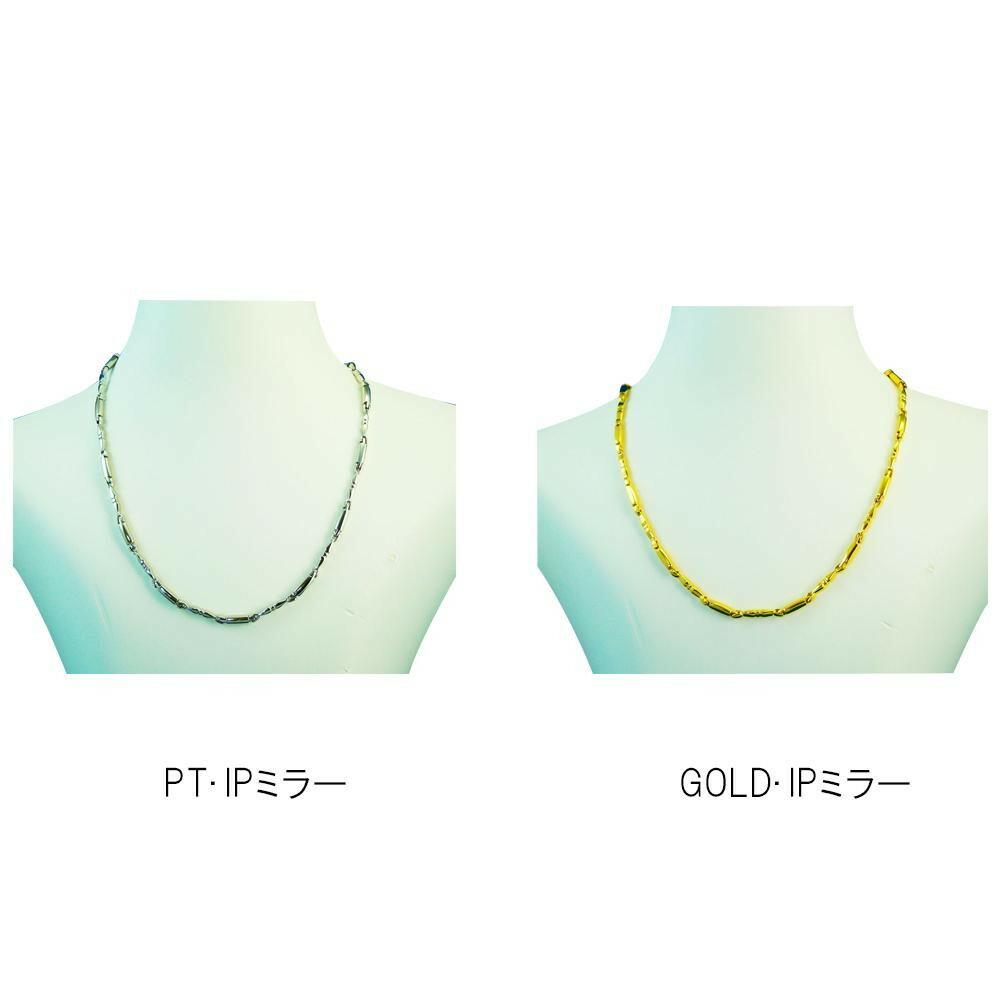 MARE(マーレ)デザインネックレス 0.35cm×43.0cm GOLD・IPミラー・107・NT1657-06