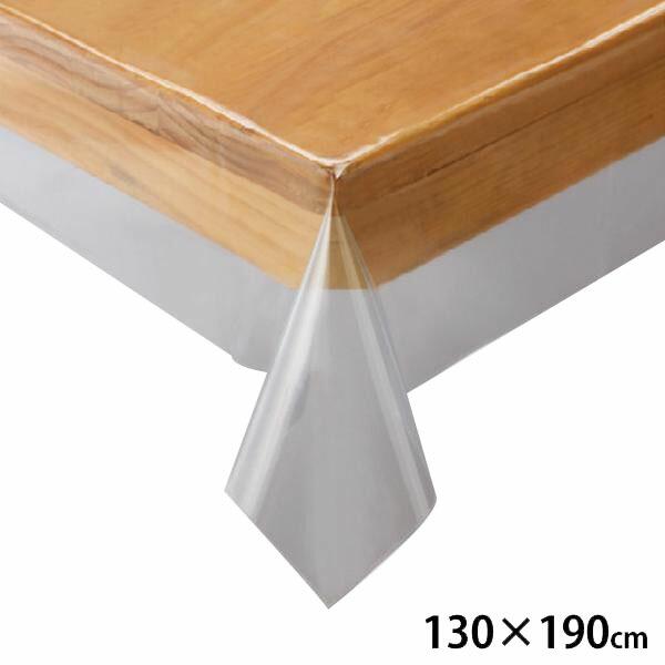 川島織物セルコン 透明ビニルクロス テーブルクロス 130×190cm JJ1029