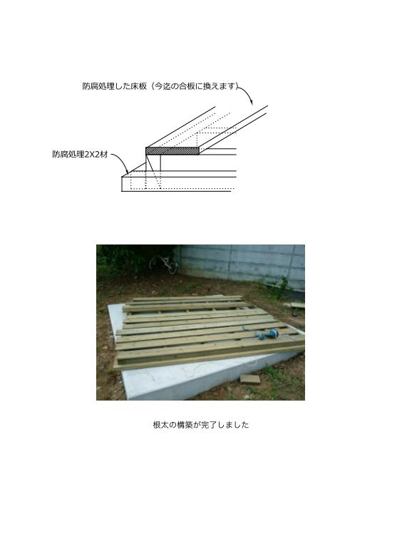 ユーロ物置 3008K2 組立説明書 [木製床]_05