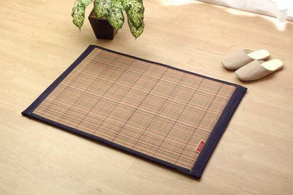 ラグ マット ふっくら 竹カーペット シンプル 『DDXリオ』 70×120cm