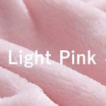 mofuaプレミアムマイクロファイバー 毛布(シングル)ライトピンク