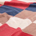 mofuaプレミアムマイクロファイバー 毛布(シングル)チェック柄レッド
