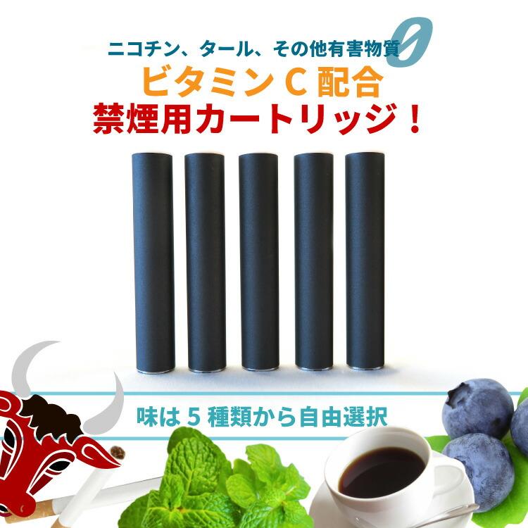 禁煙カートリッジ5本(同じ)